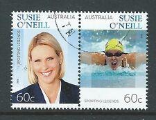Australie 2012 Susie O 'Neill Sport Legend Paire Fine Used