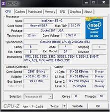 Intel Xeon E5-2667 v3 ES QEYA 2.9GHz LGA2011-3 8C Compatible X99 i7-6850K 6950X