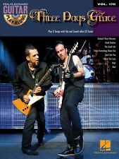 Three Days Grace Sheet Music Guitar Play-Along Book and CD NEW 000117337