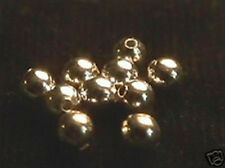 4mm Gold Filled Smooth Round Beads (10)