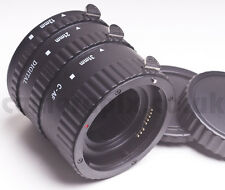 AF Autofocus Automatic Macro Extension Tube Set for Canon EOS Rebel Kiss EF EFS