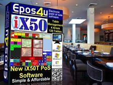 Epos iX50T Software for Restaurants, Cafeteria,  Bistro & Dining Establishments