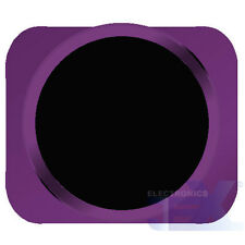 Black With Purple Trim iPhone 5S Style Look/Looking Home button for iPhone 5/5C