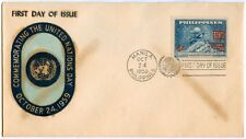 Philippine 1959 Commemorating the United Nation Day FDC - A