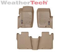 WeatherTech FloorLiner - Ford Explorer/ Merc. Mountaineer - 2002-2005 - Tan