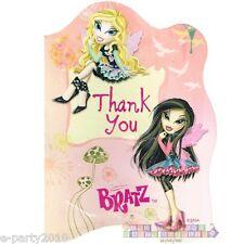 (8) BRATZ FASHION PIXIEZ THANK YOU NOTES ~ Birthday Party Supplies Stationery