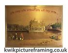 "Harmandir Sahib Golden Temple Amritsar Punjab India In Size - 12"" X 8"" inches"