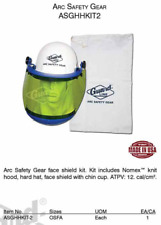 New ListingGuard Line Arc Safety Gear Kit includes Nomex knit hood, Hard Hat, face sheild