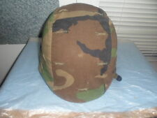 Military 87 M-1 PASGT Camouflage Army Surplus Helmet # 4D