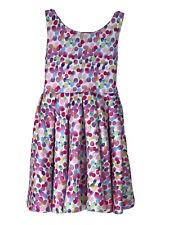 Girls Boutique Kate Mack Biscotti Rainbow Confetti Dress Size 6 *Twirls Pretty*