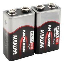 ANSMANN Alkaline Batterie Block E / 6LR61 / 9 V