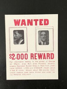 "Marcel Duchamp ""WANTED $2,000"" Ronald Feldman Exhibit Announcement"