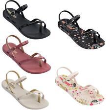 Ipanema Fashion 21 Flip Flops Ankle Strap Summer Pool Beach Sandals Black White