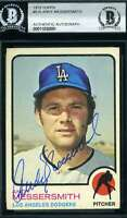 Andy Messersmith 1973 Topps BAS Beckett Coa Autograph Authentic Hand Signed