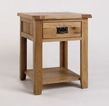 Wooden Traditional Side & End Tables with Shelves