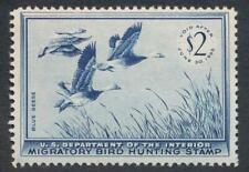 United States Rw22 Mint Nh F-Vf
