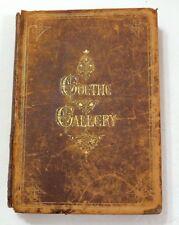 1870 1st Ed. Goethe Gallery Appleton & Company Illustrated Leather Bound Good