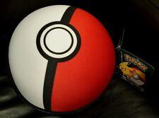 "Pokemon Pikachu Throw Blanket 40""x50"" Pokeball Zippered Case 7.5"" NEW"
