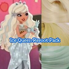 Ever After High Ice Queen Doll Re-root Pack Nylon Hair Color Blend Kit for Ooak