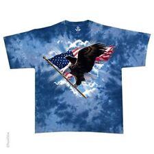 United States Flying Eagle Tie Dye Flag T-Shirt