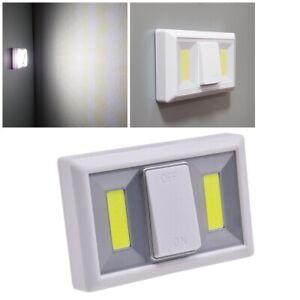 Led Klebe-Leuchte mit Batteriebetrieb CTK2 Magnet-Halter Möbel-Lampe Nachtlicht