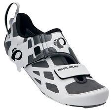 Pearl Izumi Tri Volar V Carbono Triatlón Zapatillas Ciclismo Blanco / Negro - 40