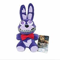"""Five Nights at Freddy's Nightmare Bonnie FNAF Plush Toy Stuffed Doll 6"""""""