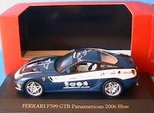 FERRARI F599 GTB PANAMERICAN 2006 BLUE IXO FER074 1/43 HELIX FIAT ITALIA ITALIE