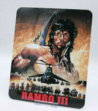 RAMBO 3 - Glossy Bluray Steelbook Magnet Cover (NOT LENTICULAR)
