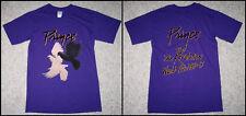 untru VTG Prince and The Revolution World Tour 1984 - 85 Men's T Shirt Reprint