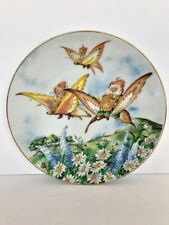"""Woodmere China decorative collector plate """"Off to the Picnic"""" the Little People"""