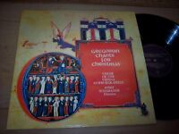 NM Gregorian Chants For Christmas LP Album