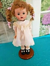 "Vintage 16"" Terri Lee Saucy Walker or similar size doll pink silk dress clothes"