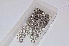 Huge lot of NEW McMaster-Carr 18-8 Stainless Steel Mil. Spec. Washers Passivated