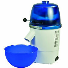 Hawos Novum Grain Mill with Funnel and Bowl Color: blue 4.4 oz / Minute