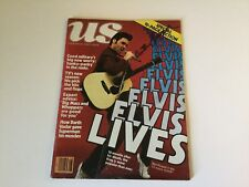 US Magazine 1979 ELVIS KURT RUSSELL Cover Signed by ANTHONY LAWRENCE Darth Vadar