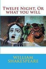 NEW Twelfe Night, Or what you will by William Shakespeare