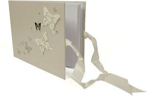 Juliana Wings of Love Butterfly Paperwrap Guest Book WG412