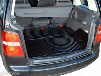 Volkswagen VW Touran boot liner load mat 2003-2015 natural rubber