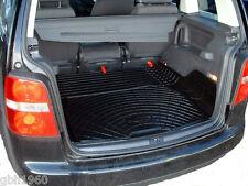 VOLKSWAGEN VW TOURAN Pesado Deber Antideslizante natural Bota De Goma Carga Mat Perro Liner