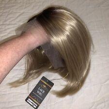 Blonde Ombre Bob Lace Wig 4099 #22 100% High Temperature Fiber