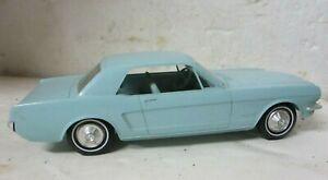 Vintage AMT 1965 Ford Mustang 2 Dr. Coupe Dealer Promo Model Car