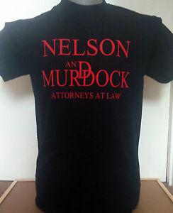 "DAREDEVIL INSPIRED ""NELSON AND MURDOCK"" MENS HEAVY T-SHIRT."