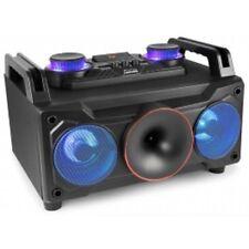 ENCEINTE SONO HAUT PARLEUR PORTABLE LED 120W BLUETOOTH USB/MP3/SD RECHARGEABLE