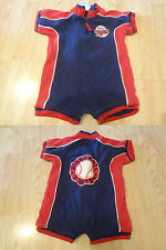 Infant/Baby Minnesota Twins 3/6 Mo Romper Embroidered Genuine Merchandise