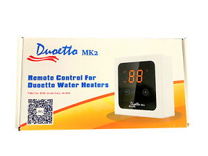Remote Control for Duoetto Water Heaters