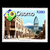 Chile 2008 - Founding of the City of Osorno Architecture - Sc 1519 MNH