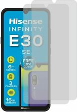 2x CLEAR LCD screen guard protector de pantalla for Hisense Infinity E30SE