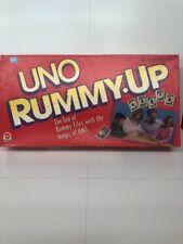 Uno Rummy Up Board Game Mattel 1993 COMPLETE NIB