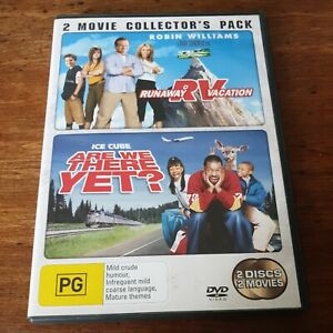 RV Runaway Vacation + Are We There Yet 2 DVD Collectors Pack R4 Like New